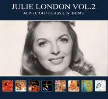 Julie London: Eight Classic Albums Vol. 2, 4 CDs