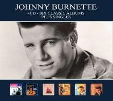 Johnny Burnette: Six Classic Albums Plus Singles, 4 CDs