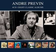 Andre Previn (1929-2019): Filmmusik: Eight Classic Albums, 4 CDs