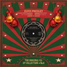 """Elvis Presley (1935-1977): The Original U.S. EP Collection No.8 (Special Limited Collection) (Red Vinyl), Single 12"""""""