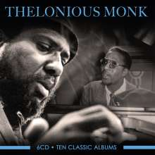 Thelonious Monk (1917-1982): Ten Classic Albums, 6 CDs