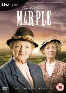 Agatha Christie's Marple Season 1-6 (UK Import), 6 DVDs
