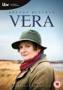 Vera Season 1-8 (UK Import), 16 DVDs