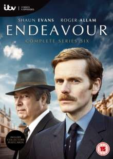 Endeavour Season 6 (UK Import), 3 DVDs