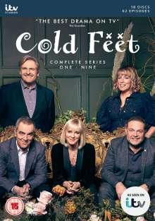 Cold Feet Season 1-9 (UK Import), 18 DVDs