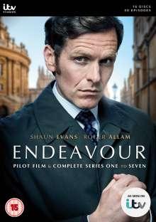 Endeavour Season 1-7 (UK Import), 16 DVDs