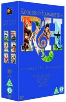 Rodgers And Hammerstein - 6 Timeless Musicals (UK Import), 6 DVDs