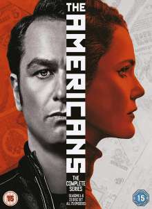 The Americans Season 1-6 (Complete Series) (UK Import), 23 DVDs