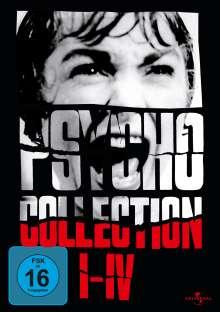 Psycho I-IV (Box mit 4 DVDs), 4 DVDs