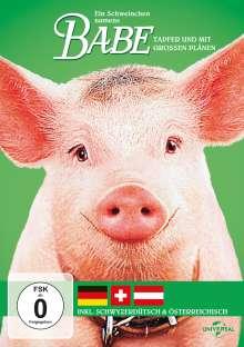 Ein Schweinchen namens Babe (Fassungen in D,CH,A), DVD