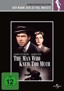 Der Mann, der zu viel wusste, DVD