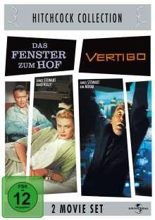 Hitchcock: Das Fenster zum Hof/Vertigo, 2 DVDs
