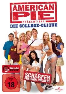 American Pie präsentiert: Die College-Clique, DVD