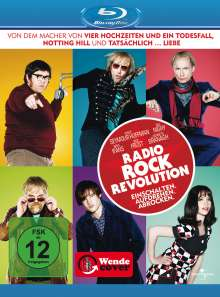 Radio Rock Revolution (Blu-ray), Blu-ray Disc