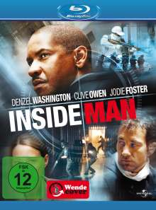 Inside Man (Blu-ray), Blu-ray Disc