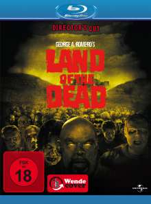 Land of the Dead (Blu-ray), Blu-ray Disc