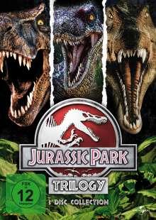 Jurassic Park Trilogy, 3 DVDs