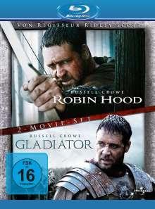 Robin Hood (Director's Cut) / Gladiator (Extended Edition) (Blu-ray), 2 Blu-ray Discs