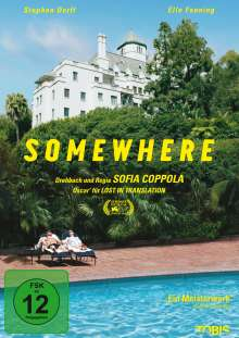 Somewhere, DVD