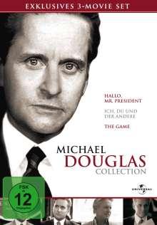 Michael Douglas Box, 3 DVDs
