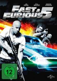 Fast & Furious 5, DVD