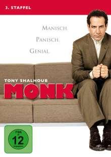 Monk Season 3, 4 DVDs