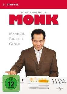 Monk Season 5, 4 DVDs
