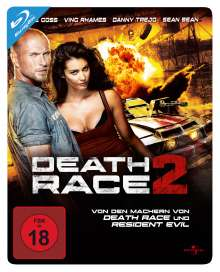 Death Race 2 (Blu-ray im Steelbook), Blu-ray Disc