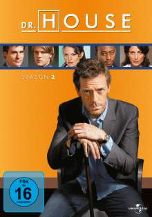 Dr. House Season 2, 6 DVDs