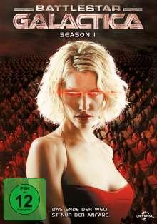 Battlestar Galactica Season 1, 4 DVDs