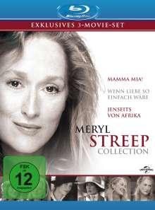 Meryl Streep Collection (Blu-ray), 3 Blu-ray Discs