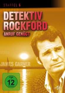 Detektiv Rockford - Anruf genügt Staffel 6, 3 DVDs