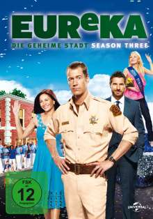 Eureka Season 3, 5 DVDs