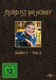 Mord ist ihr Hobby Staffel 1 Box 2, 4 DVDs