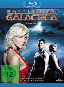 Battlestar Galactica Season 1 (Blu-ray), 4 Blu-ray Discs