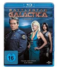 Battlestar Galactica Season 2 (Blu-ray), 5 Blu-ray Discs