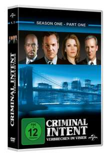 Criminal Intent Season 1 Box 1, 3 DVDs