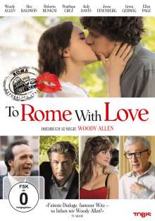 To Rome With Love, DVD
