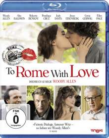 To Rome With Love (Blu-ray), Blu-ray Disc