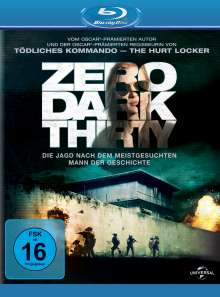 Zero Dark Thirty (Blu-ray), Blu-ray Disc