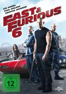 Fast & Furious 6, DVD