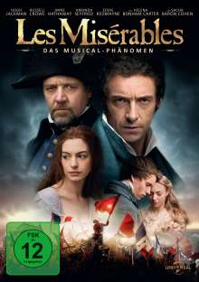 Les Miserables (2012), DVD