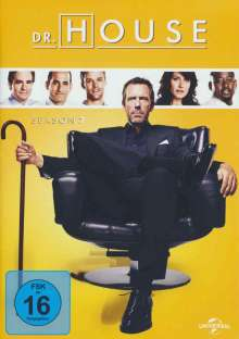 Dr. House Season 7, 6 DVDs