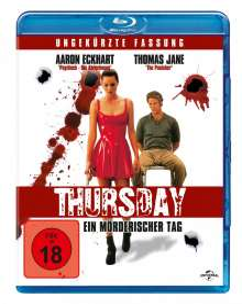 Thursday - Ein mörderischer Tag (Blu-ray), Blu-ray Disc