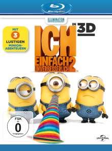 Ich - Einfach unverbesserlich 2 (3D & 2D Blu-ray), 2 Blu-ray Discs