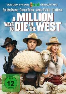A Million Ways to die in the West, DVD