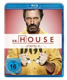Dr. House Season 8 (finale Staffel) (Blu-ray), 5 Blu-ray Discs