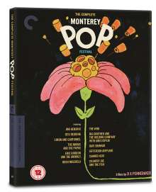 The Complete Monterey Pop Festival (The Criterion Collection), 3 Blu-ray Discs