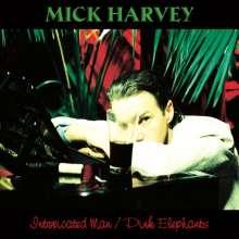 "Mick Harvey: Intoxicated Man / Pink Elephants (2 LP + 7''), 2 LPs und 1 Single 7"""