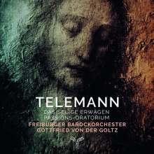 """Georg Philipp Telemann (1681-1767): Passions-Oratorium TWV 5:2 """"Das selige Erwägen"""", 2 CDs"""
